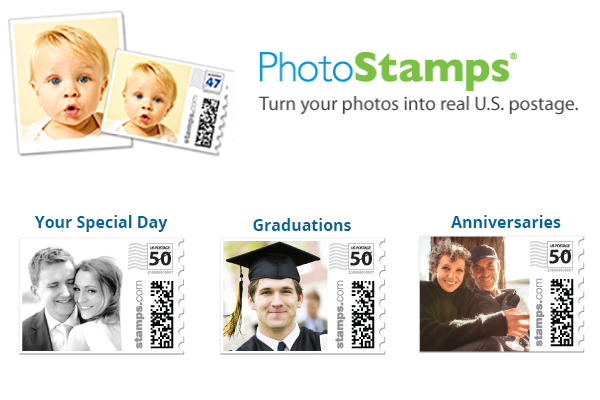 Personalized Photo Stamps