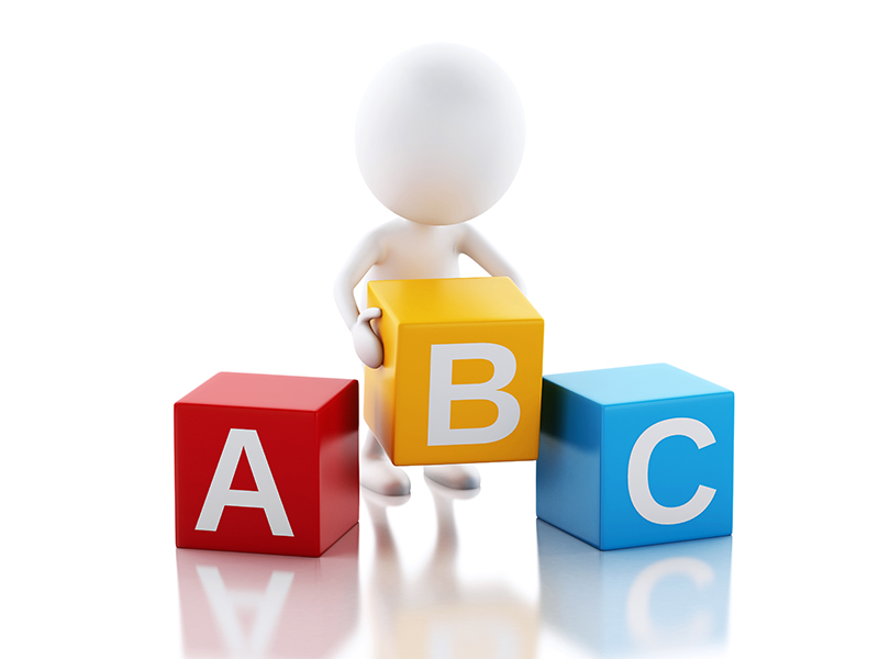 Start with the ABCs